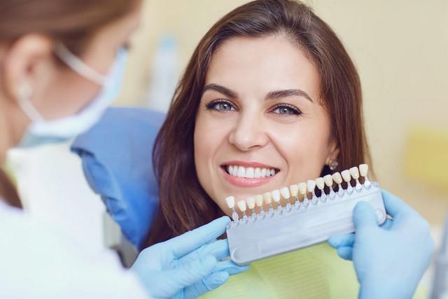 Шкала сравнения оттенков зубов